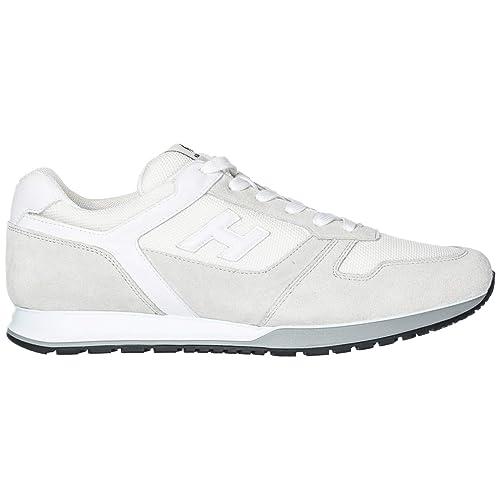 Hogan H321 Zapatillas Deportivas Hombre Bianco City 44 EU: Amazon.es: Zapatos y complementos