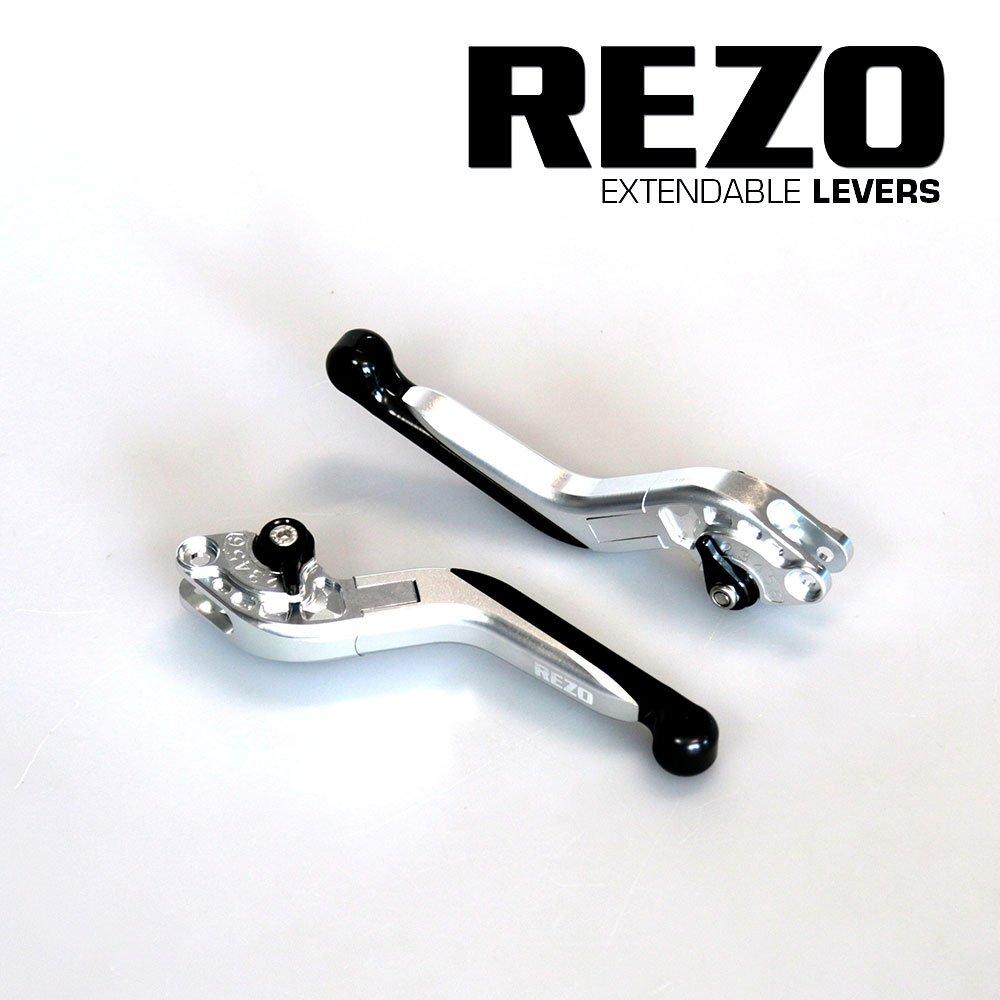 Rezo rez-setv2 –  2-slv-0021 V2 allungabile regolabile CNC leve moto per Honda CB 1000 R 2008 –  2016, argento China REZ-SETV2-2-SLV-0021