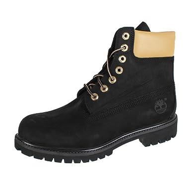 Timberland Premium Herren 6 Inch Boots Black Gold