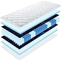 Matratzen Perfekt 20 cm hohe orthopädische 7-Zonen Tonnentaschenfederkernmatratze Köln Bezug waschbar, 60°C