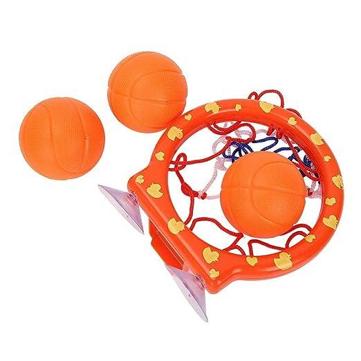 Nitrip - Juego de accesorios de baño para baloncesto y bolas ...