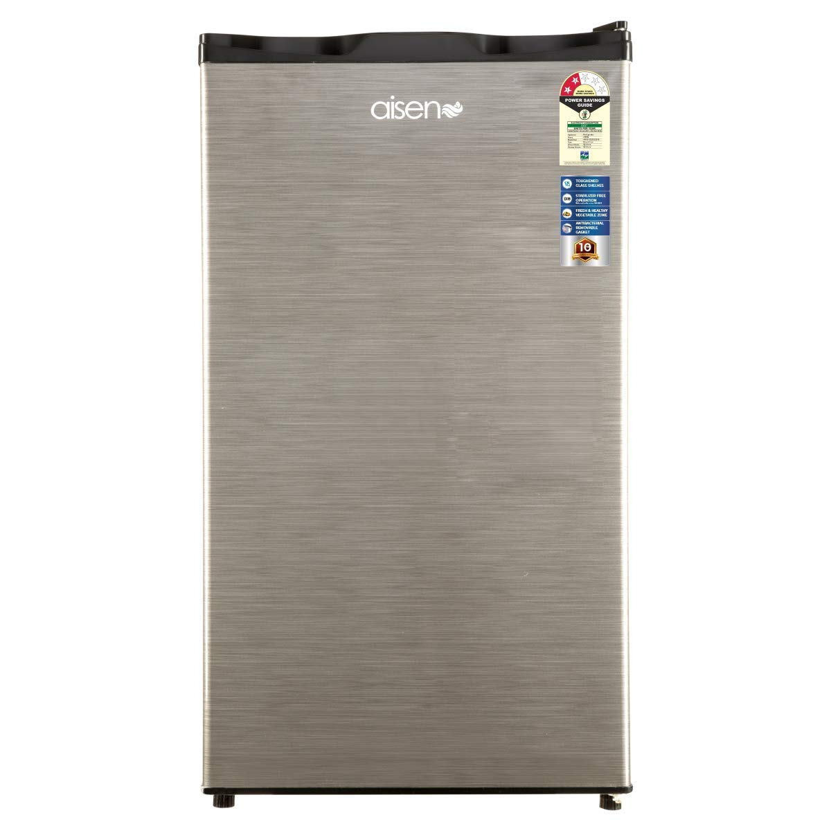 AISEN 100L 2 Star Direct Cool Single Door Mini Refrigerator,