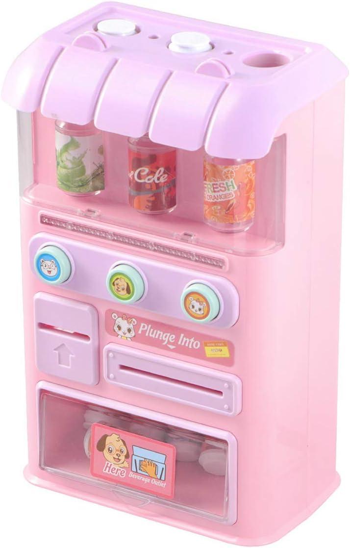 STOBOK Máquina Expendedora Juguetes Máquinas de Bebidas Electrónicas Educación para Niños Juguetes de Aprendizaje Juego de Compras Juguetes con Sonido Ligero