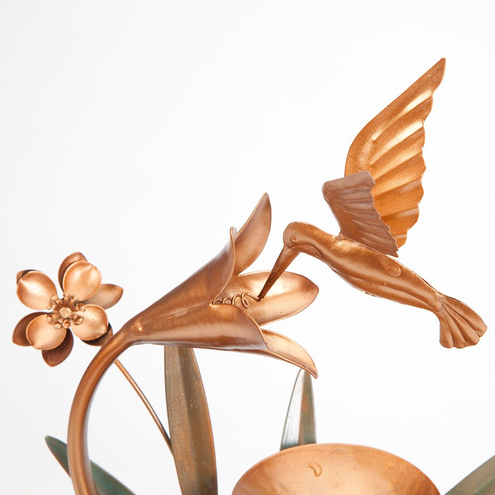 Bits and Pieces - Indoor Hummingbird Lily Fountain - Zen Tabletop Water Fountain by Bits and Pieces (Image #7)