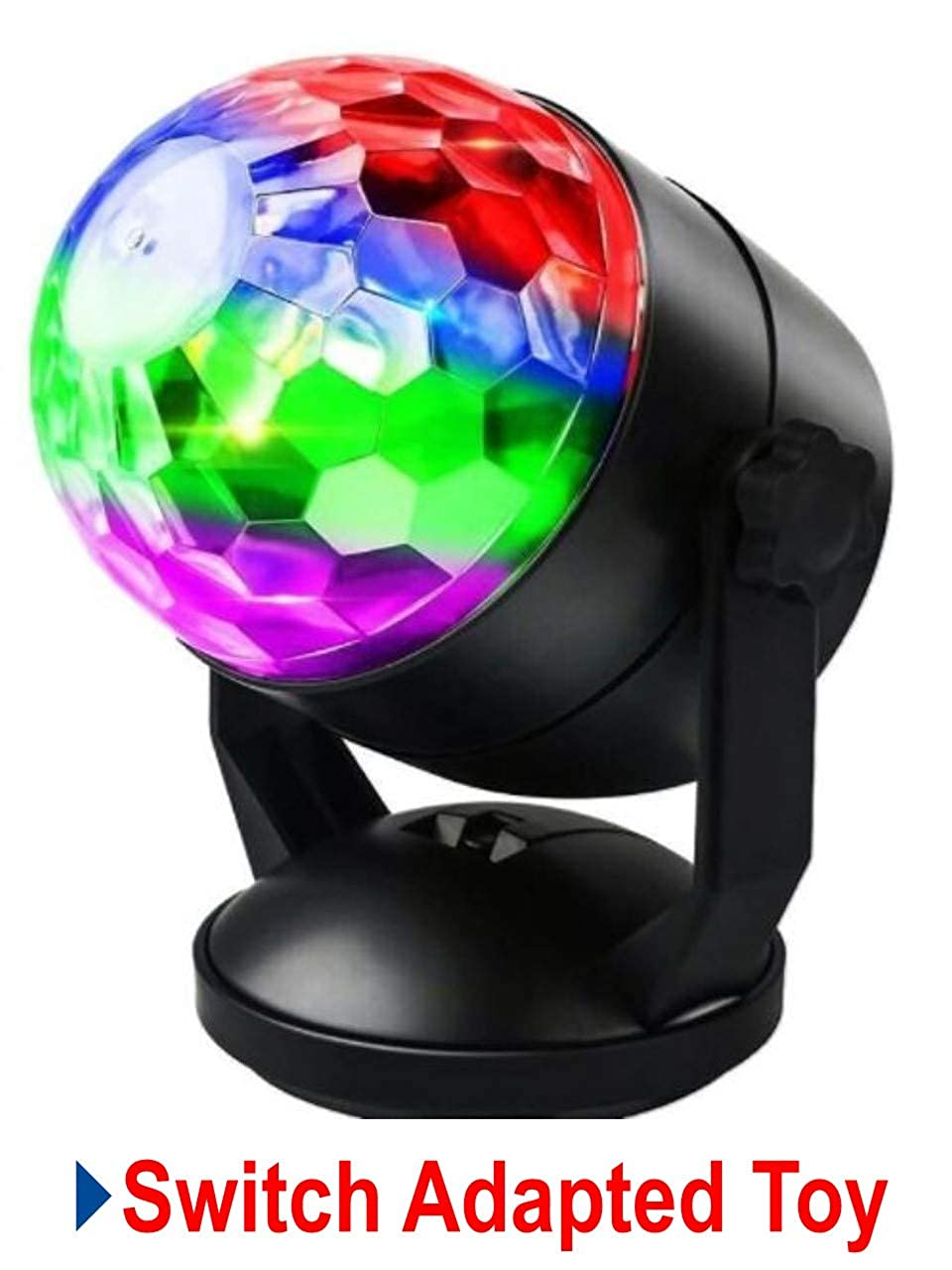 Switch Adapted Toy Disco Ball Light   Adaptive Toys   Special Needs Switch Toys   Switch Toys