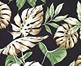 Vintage Tropical Hawaiian Curtain Panel By Designer Dean Miller