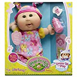 "Cabbage Patch Kids 12.5"" Baby: Brown Hair Girl Doll, Green Eyes"