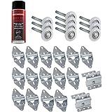 Garage Door Lube/Roller/Hinge/Bracket Tune Up/Service Kit (for 16' x 7' Doors)