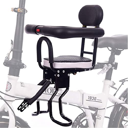 EFGS Ajustable Bicicleta Niños Asiento, Desmontable Bicicleta ...