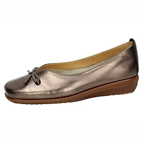Zapatos MocasínAmazon Manoletinas De Piel Horas 48 Mujer 81040154 cJTlFK1
