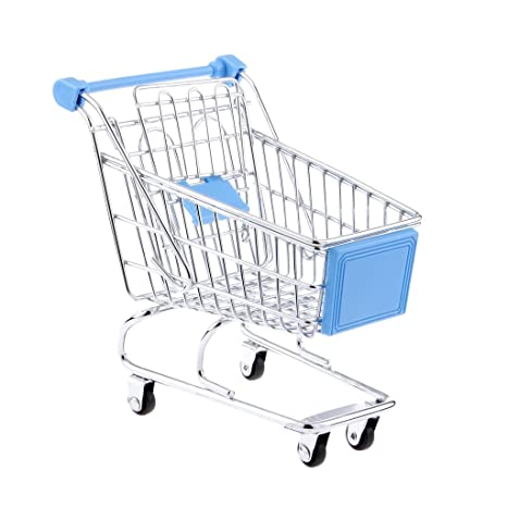 Buy Kids Pretend Play Shopping Handcart Trolley Toy Home