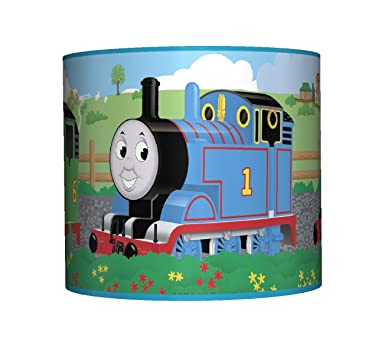 Thomas friends ceiling lampshade 10 drum boys bedroom lamp thomas friends ceiling lampshade 10 drum boys bedroom lamp shade amazon lighting aloadofball Gallery