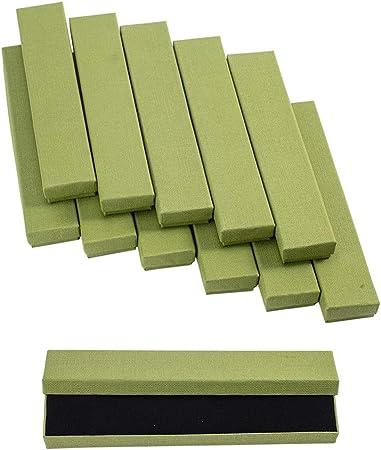 nbeads 12 Pcs Carton Bo/îte Cadeau Bijoux pour Bracelets Collier Affichage de Stockage 21/x 4/x 2/cm