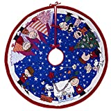 Keepsake Ornament 2019 Year Dated Peanuts Christmas Light, Charlie Brown Tree Skirt