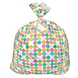 Jumbo Plastic Pastel Baby Shower Gift Bag