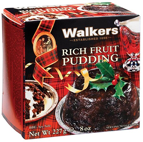 Walkers Plum Pudding - 8 oz by Walkers