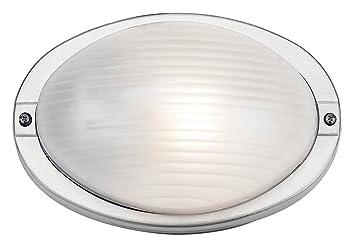 Haysoms HA569-SS - Lámpara de Techo Ovalada para Exteriores ...