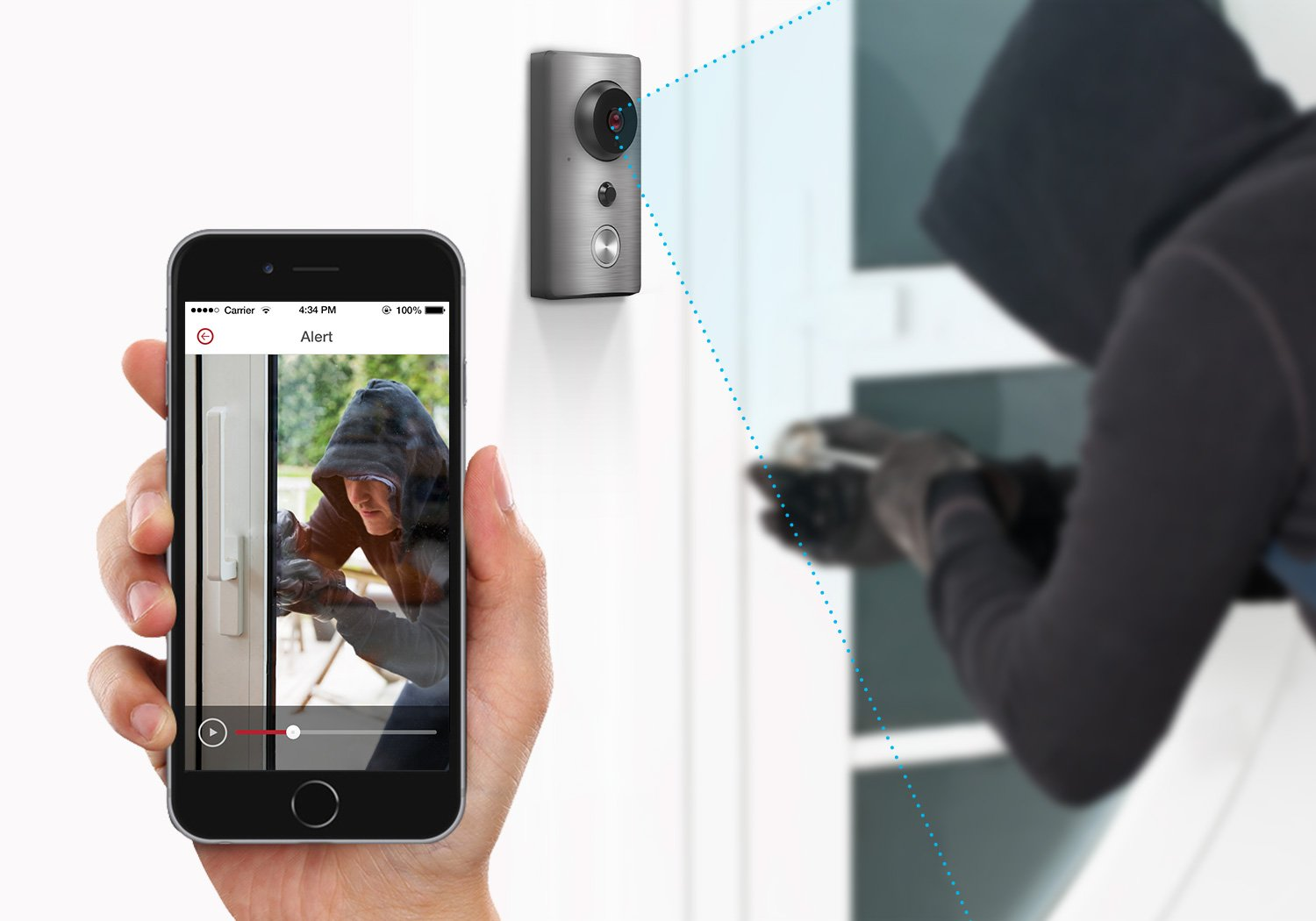 Zmodo Greet - Smart WiFi Video Doorbell by Zmodo (Image #4)