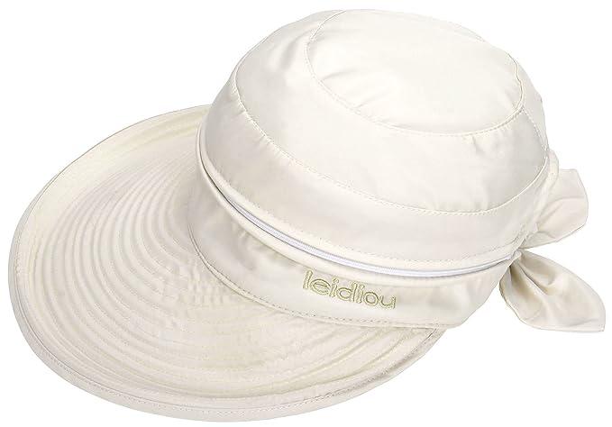 f18d6a5c6b3 Amazon.com  EPGW Women s UV Protection Wide Brim Summer 2in1 Visor ...