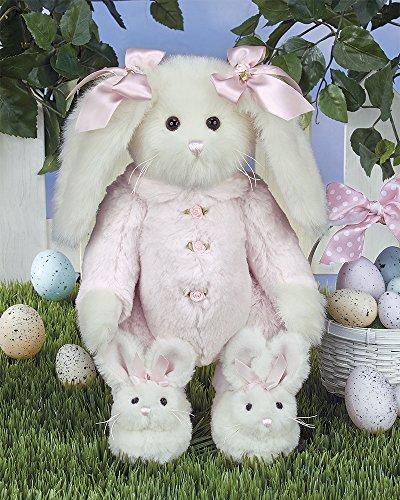 Bunny Bearington Collection (Bearington Bonnie Bunnytoes Stuffed Animal Dressed Bunny Rabbit 14