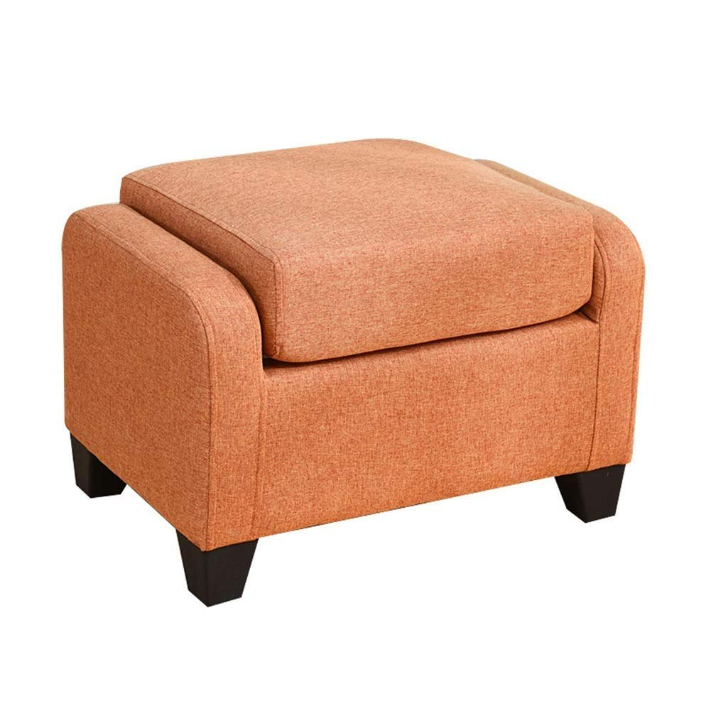 C Footstool Simple Solid Wood Multifunction Household Sofa Stool Change shoes Bench Dressing Stool GMING (color   D)