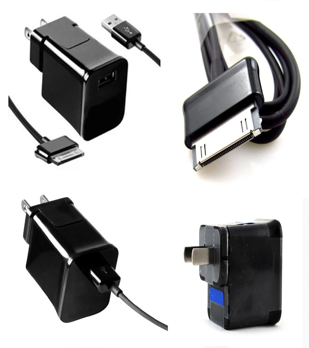 fyl OEM Cargador de pared USB Cable para Samsung Galaxy Tab ...