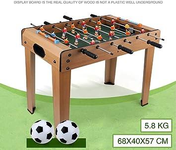 RUIXFFT - Mini futbolín, Juego de futbolín de fútbol para Interior ...