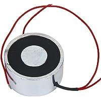 B Baosity Electroimán De Solenoide De Imán De Elevación Eléctrico De CC De 12 V Con Capacidad Para 500 N / 50 Kg…