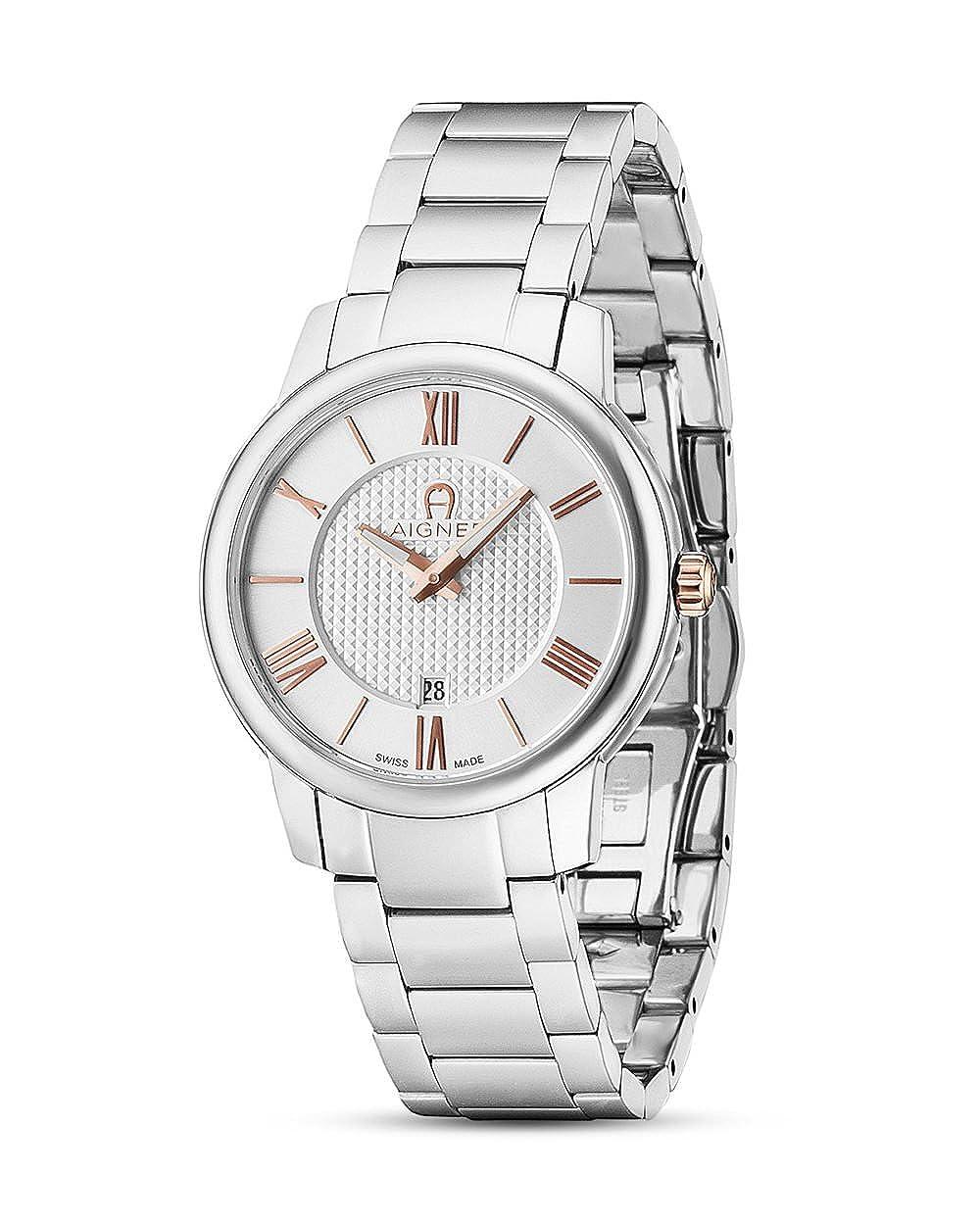 neueste kaufen Beförderung Offizieller Lieferant AIGNER Schweizer Uhr Padua A24154: Amazon.de: Uhren