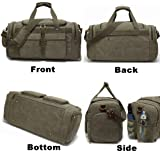 Weekender Overnight Duffel Bag Shoe Pocket for