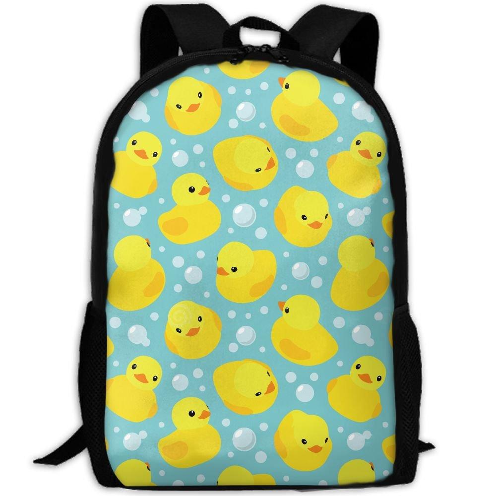 CY-STORE Cartoon Animal Cute Duck Outdoor Shoulders Bag Fabric Backpack Multipurpose Daypacks For Adult
