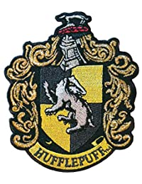 """Ata-Boy Harry Potter Hufflepuff Crest 3"""" Full Color Iron-On Patch"""