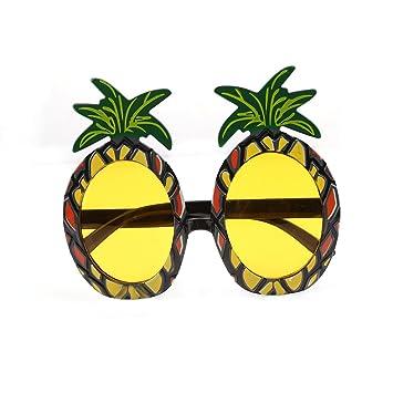 LnLyin Ananas Form Party Brille Sonnenbrille für Kostümpartys ...