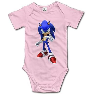 4274c9aa102c Amazon.com  Sonic The Hedgehog Organic For Baby Climbing Clothes ...