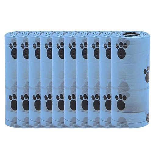 Camerlon 10 unids Impresión Colorida Plástico Pet Poop Bolsa ...