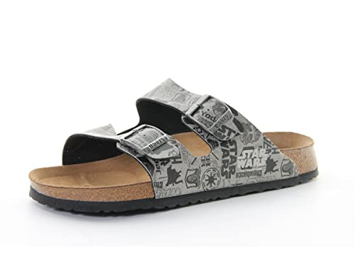 76728dc397313c Birkis Slipper Arizona in star wars used gray aus Birko-Flor in Größe 45 EU