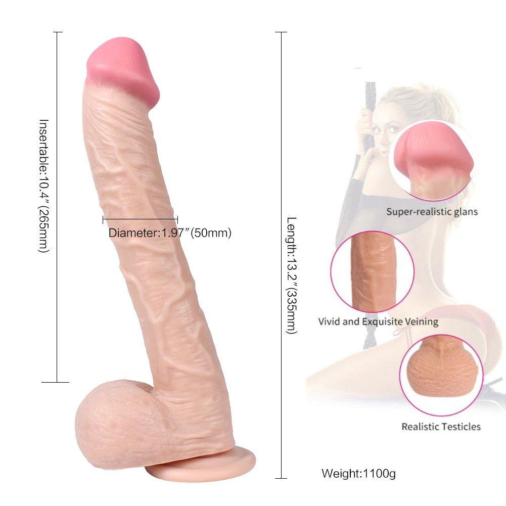 Bcbig Consoladores reales fuerte Pene real Mujer fuerte reales ventosa Pene artificial de silicona blanda Juguetes sexuales Impermeable Principiantes de ano se aplican-A 9745b6