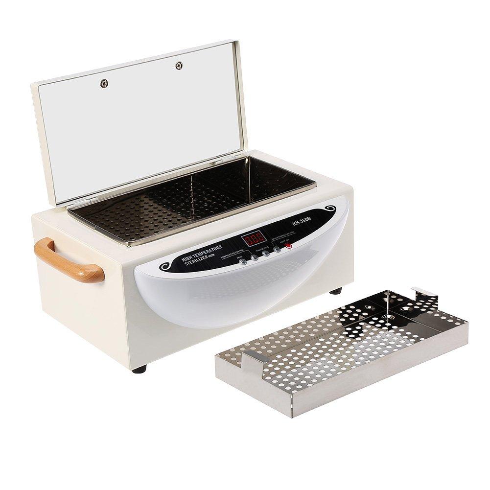 Hochtemperatur-Reinigungswerkzeug-Sterilisator automatischer konstante Temperatur 170 /° C Metallwerkzeug-Sterilisator f/ür Sch/önheit Europa-Stecker lujiaoshout Sch/önheit Werkzeuge Sterilisator