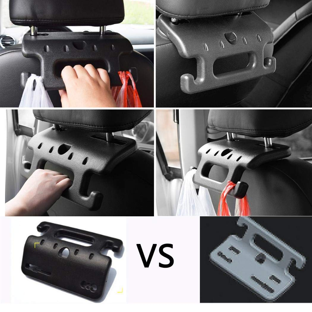 XuBa Adjustable Car Steering Wheel Lock Anti-Theft Automobile Steering Padlocks with Safety Hammers with Cone