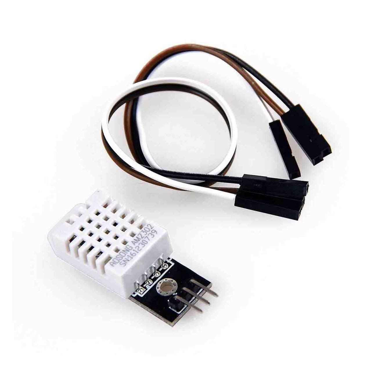 Farbe: bunt MachinYeseed DHT22 und Feuchtigkeitssensormodul ersetzen SHT11SHT15 Ausgezeichnete Langzeitstabilit/ät AM2302 Digitales Temperatur