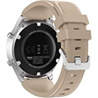 FanTEK Band for Samsung Galaxy Watch 3 45mm /Galaxy Watch 46mm /Gear S3 Watch, 22mm Silicone Sport Quick Release…