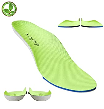 1b62b24aaf Sports Athletic Replacement Shoe Insoles/Insert for Flat Feet  Running/Hiking,with Soft