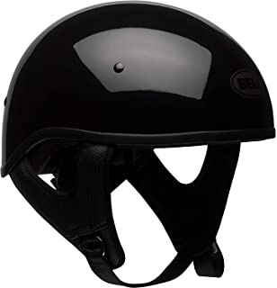 Bell Pit Boss Sport Open-Face Motorcycle Helmet (Solid Black, Large)