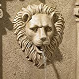 John Timberland Lion Face Roman Outdoor Wall