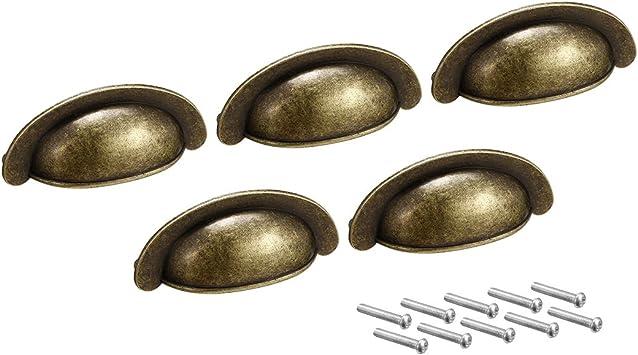 Sourcingmap asas de armario de cocina a18011600ux0087 Tiradores de caj/ón centros de agujeros,