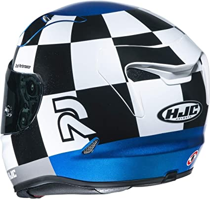 Hjc Rpha 11 Misano Motorcycle Helmet Nc M Black White Blue Auto
