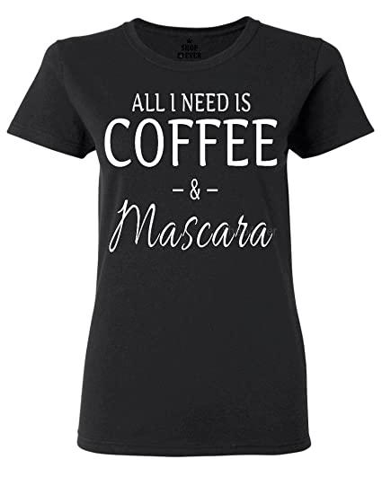 Shop4Ever Coffee & Mascara Women's T-Shirt