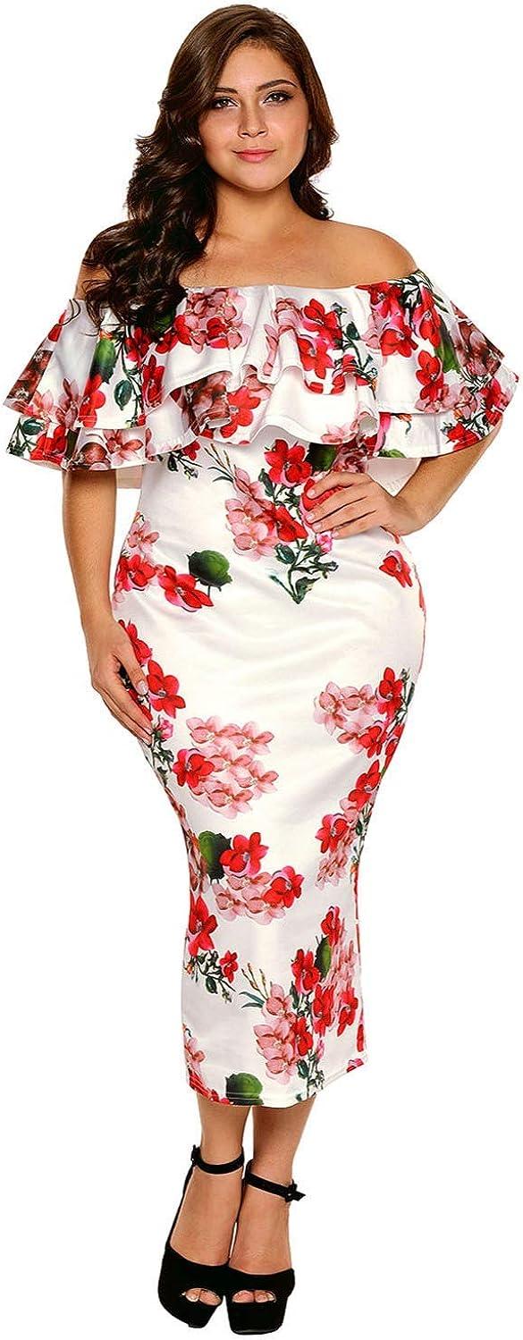 Vestidos Plus Size Women Elegantes Casual para Fiesta Tallas ...