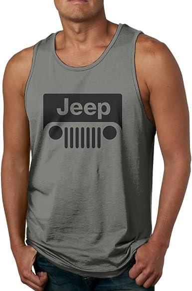 Jeep Sleeveless Vest T-Shirts Fit Mens