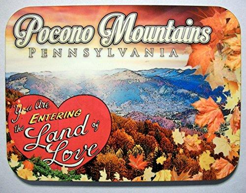 Pocono Mountains Pennsylvania Photo Fridge Magnet